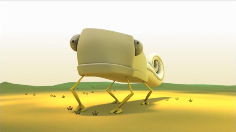 An illustration of a Chameleon.