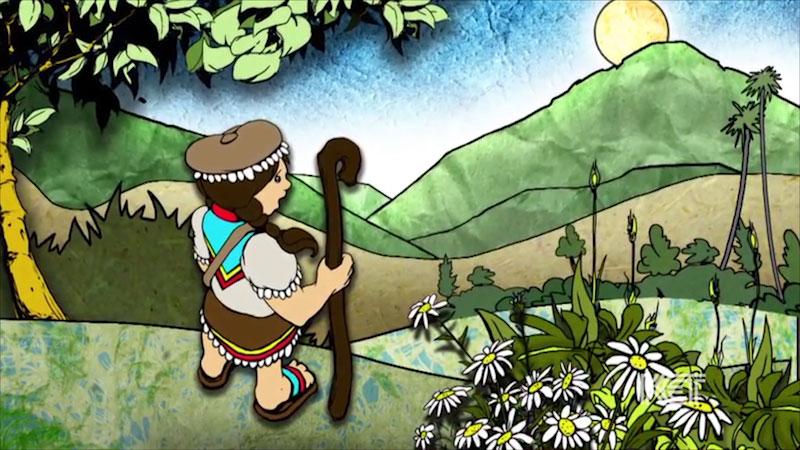 Still image from Colombian Folktale: Shepherd (Spanish)