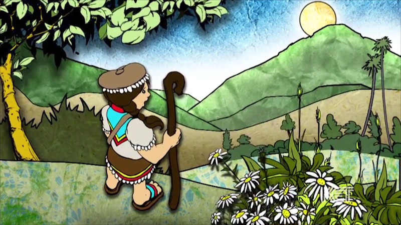 Still image from: Colombian Folktale: Shepherd