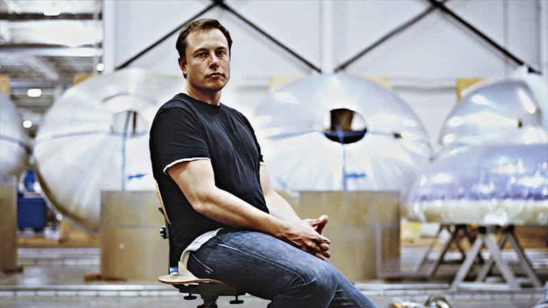 Still image from: The Story of Elon Musk: SpaceX to Tesla (Part 2)