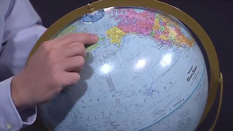 Still image from: Earth Science: Determining Latitude and Longitude (Module 2, Topic 11)