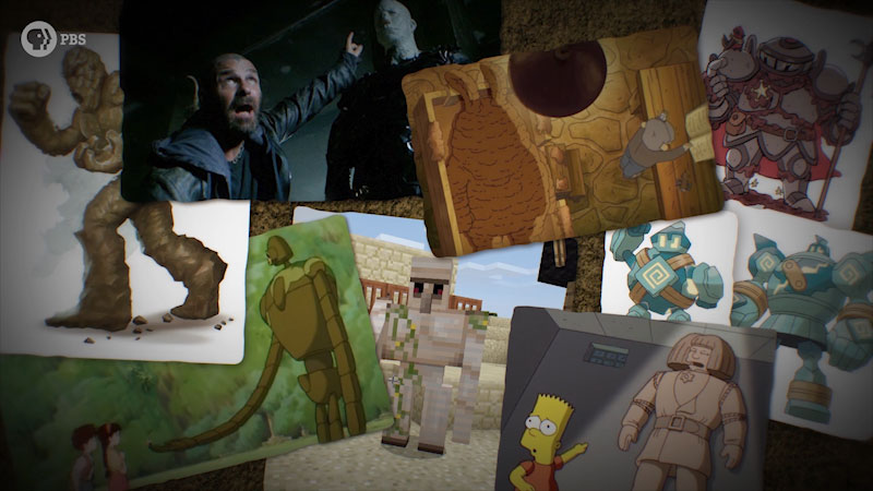 Still image from: Monstrum: Golem--The Mysterious Clay Monster of Jewish Lore
