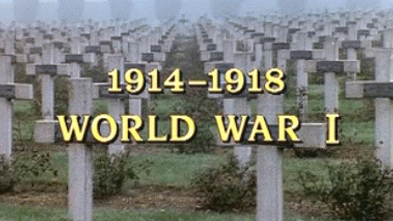 Still image from: 1914 - 1918: World War I