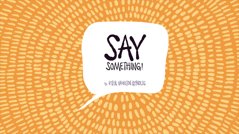 Still image from: Say Something