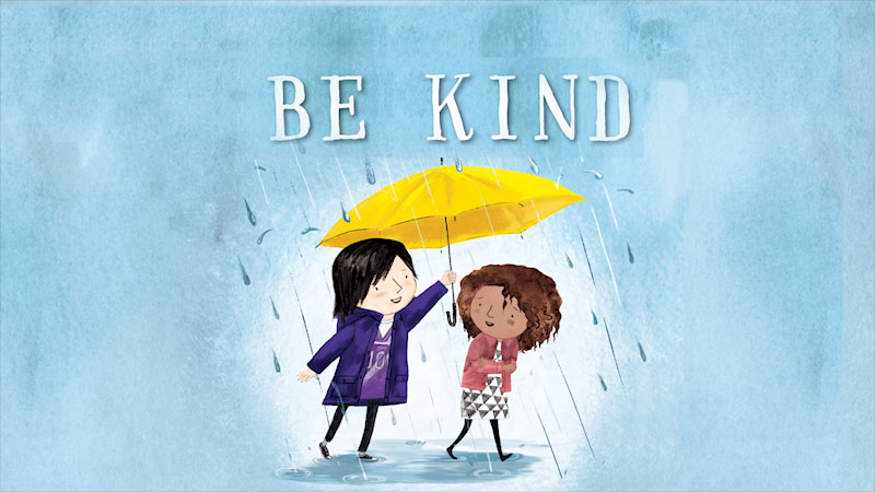 Still image from: Be Kind