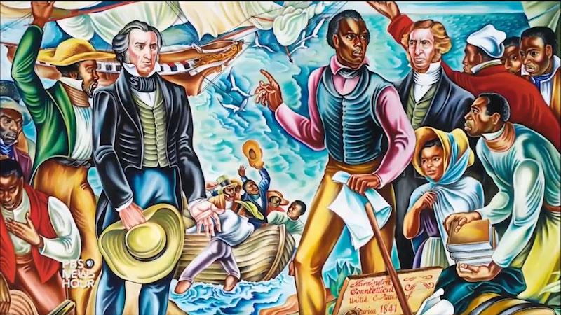 Still image from: Rising Up: The Talladega Murals