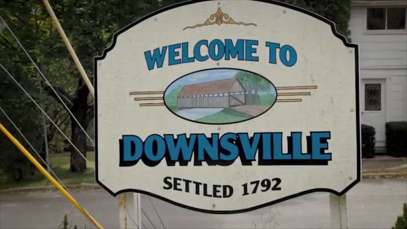 Still image from: Uniquely New York: Foundations--Downsville