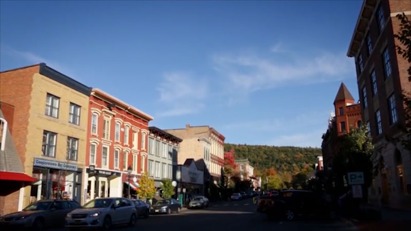 Still image from: Uniquely New York: Foundations--Cooperstown