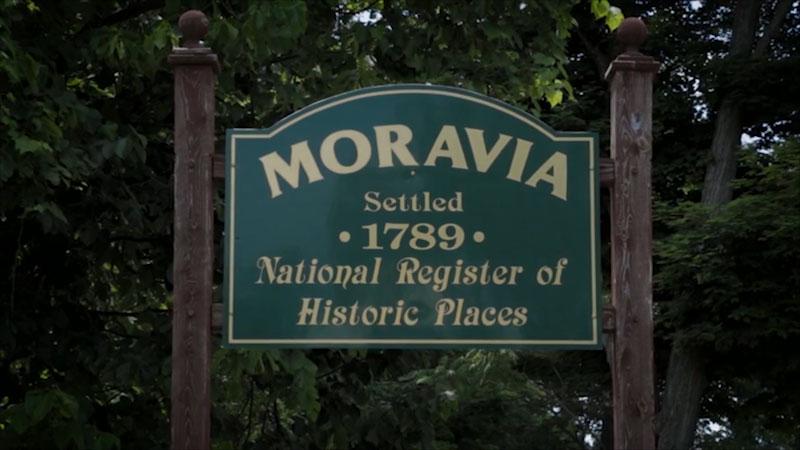 Still image from: Uniquely New York: Foundations--Moravia