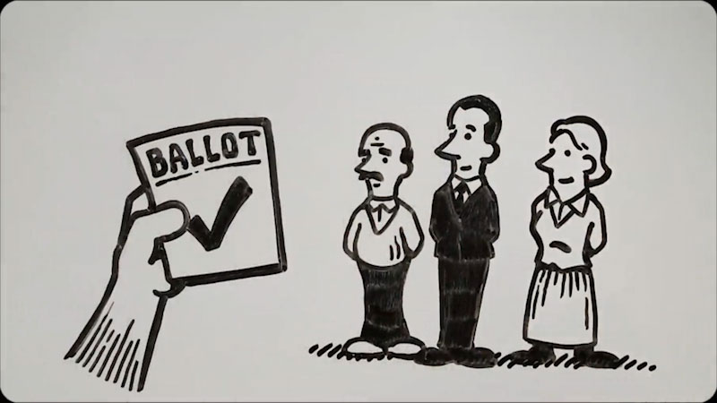 Still image from: Election Foundations
