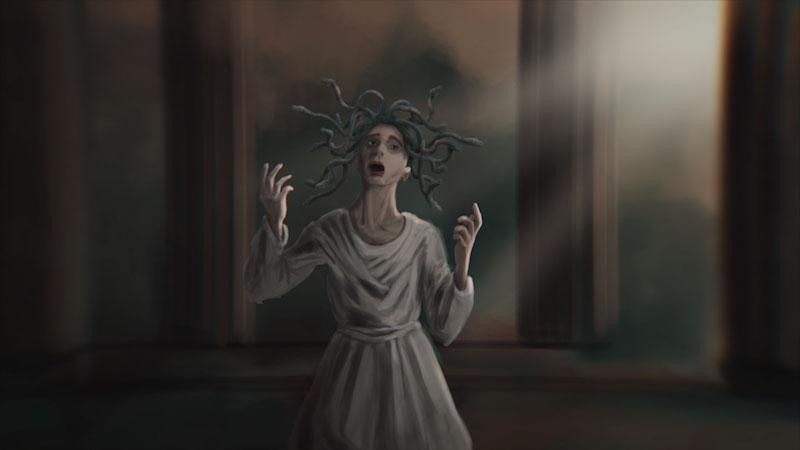 Still image from: Monstrum: Medusa--Victim or Villain?