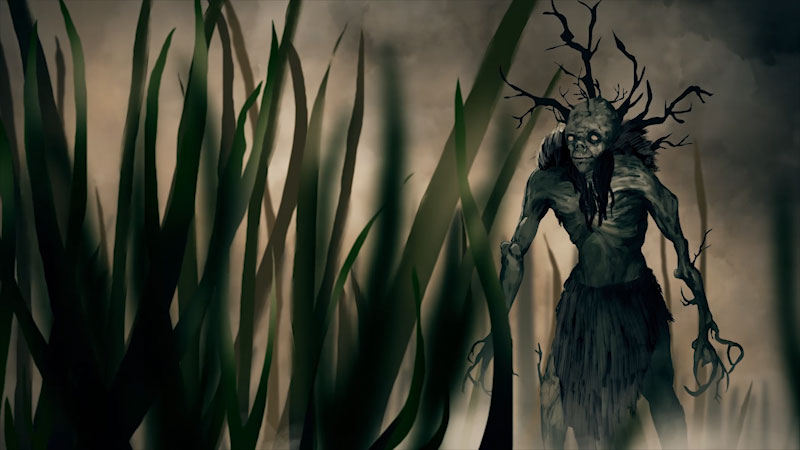 Still image from: Monstrum: Leshy--The Slavic Lord of the Forest