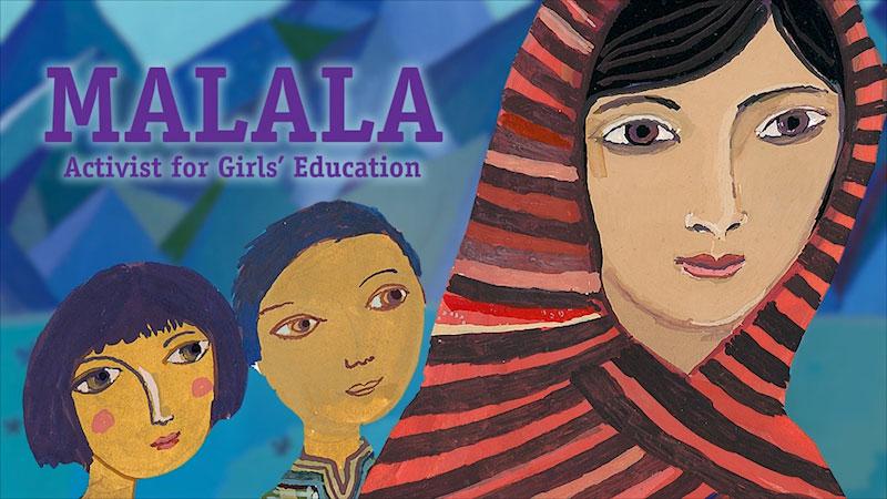 Still image from: Malala: Activist for Girls' Education