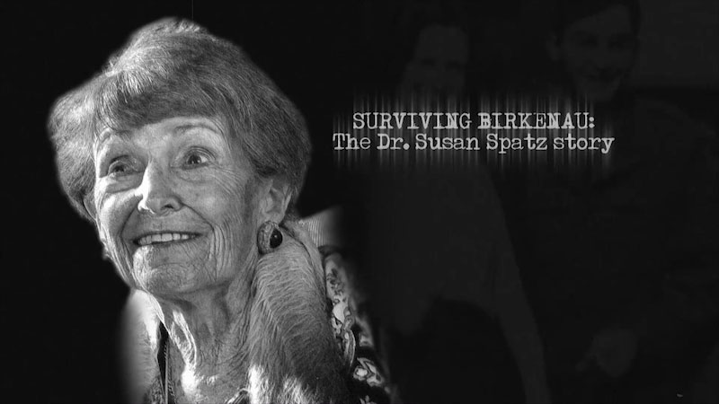 Still image from: Surviving Birkenau: The Dr. Susan Spatz Story