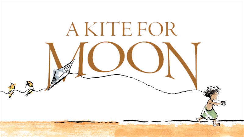 Still image from A Kite for Moon