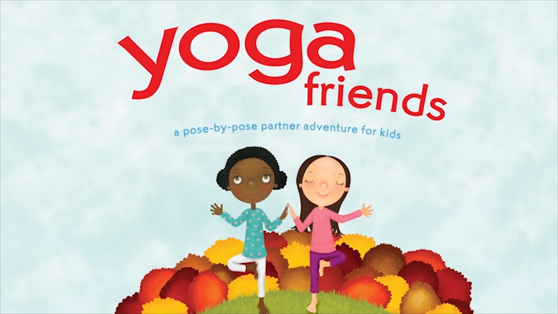 Still image from Yoga Friends: A Pose-By-Pose Partner Adventure for Kids