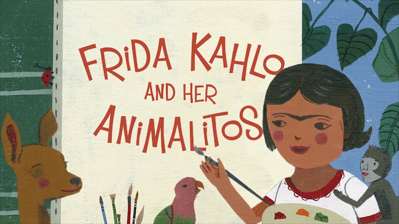 Still image from Frida Kahlo and Her Animalitos