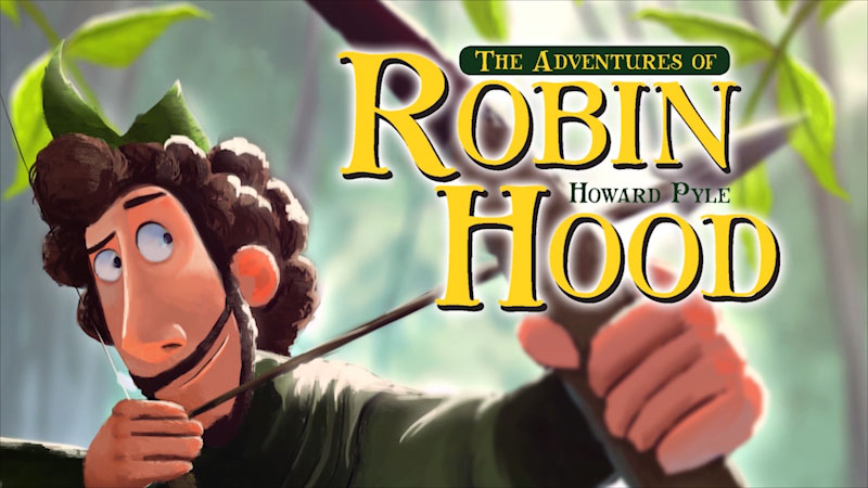 Still image from The Adventures of Robin Hood