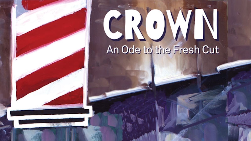 Still image from: Crown: An Ode to the Fresh Cut