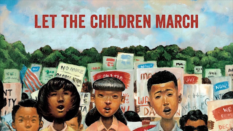 Still image from Let the Children March