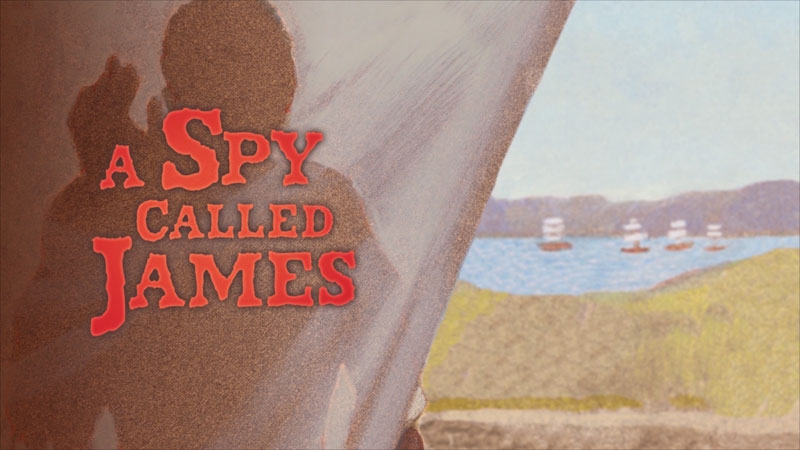 Still image from: A Spy Called James