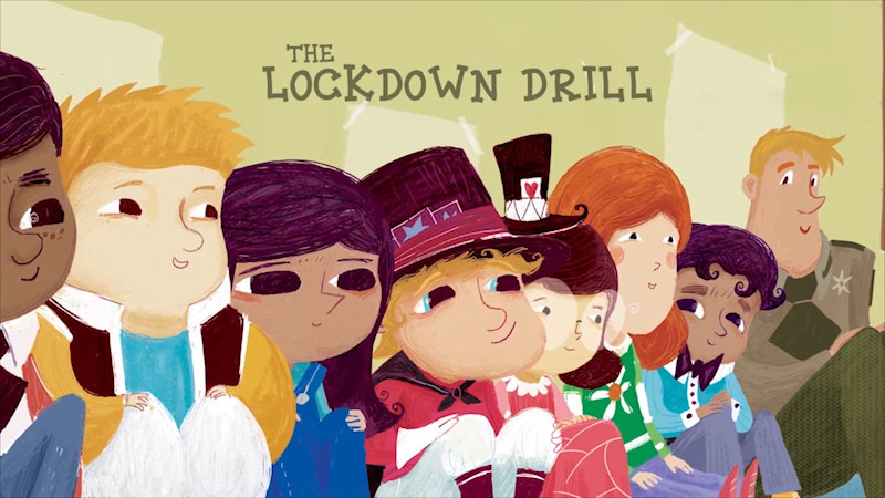 Still image from The Lockdown Drill