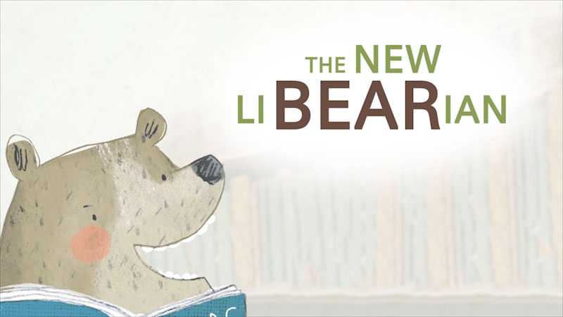 Still image from The New LiBEARian