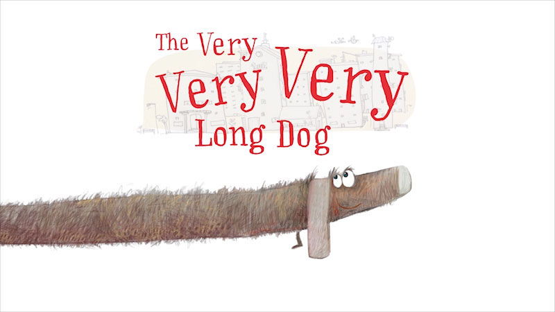 Still image from The Very Very Very Long Dog