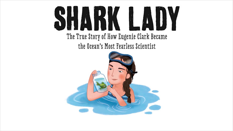 Still image from Shark Lady: The True Story of How Eugenie Clark Became the Ocean's Most Fearless Scientist