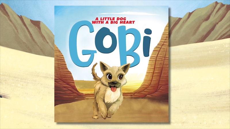 Still image from Gobi: A Little Dog With a Big Heart