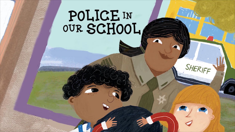 Still image from: Police in Our School