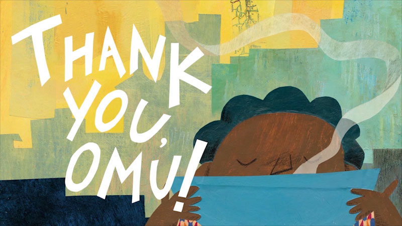 Still image from Thank You, Omu!