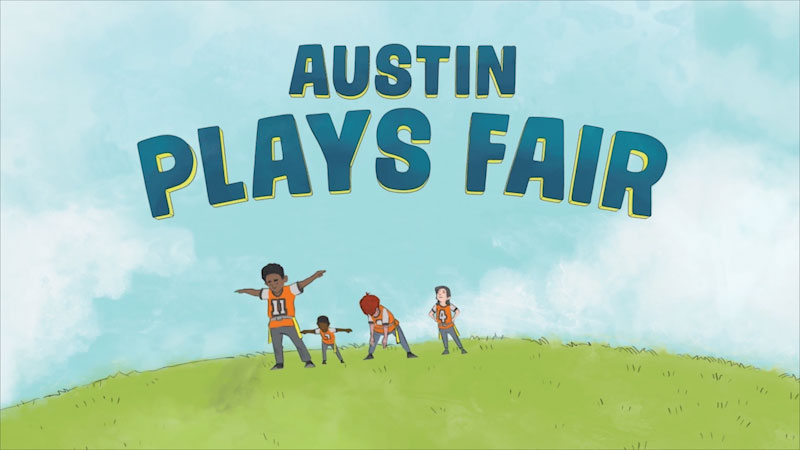 Still image from Team Dungy: Austin Plays Fair