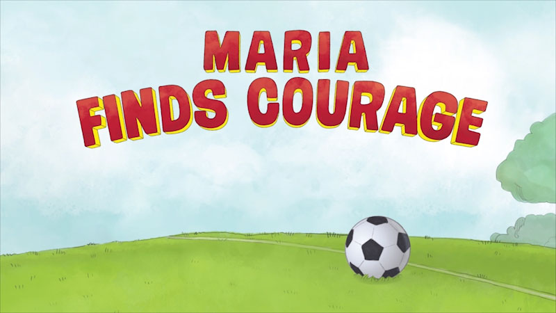 Still image from Team Dungy: Maria Finds Courage