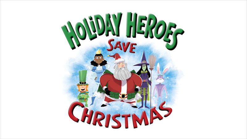 Still image from Holiday Heroes Save Christmas
