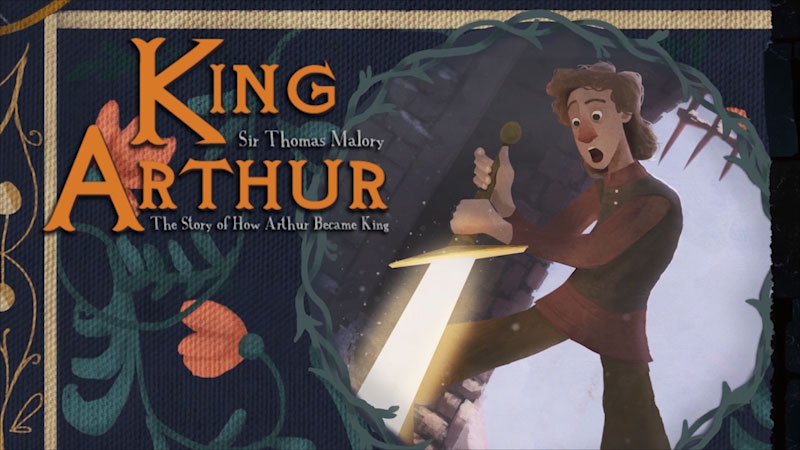 Still image from King Arthur: The Story of How Arthur Became King