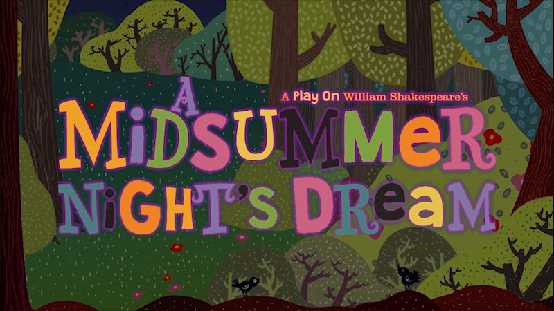 Still image from A Midsummer Night's Dream: A Play on William Shakespeare