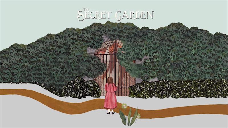 Still image from: The Secret Garden