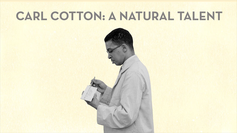 Still image from: The Brain Scoop: Carl Cotton--Chicago's Original Black Taxidermist