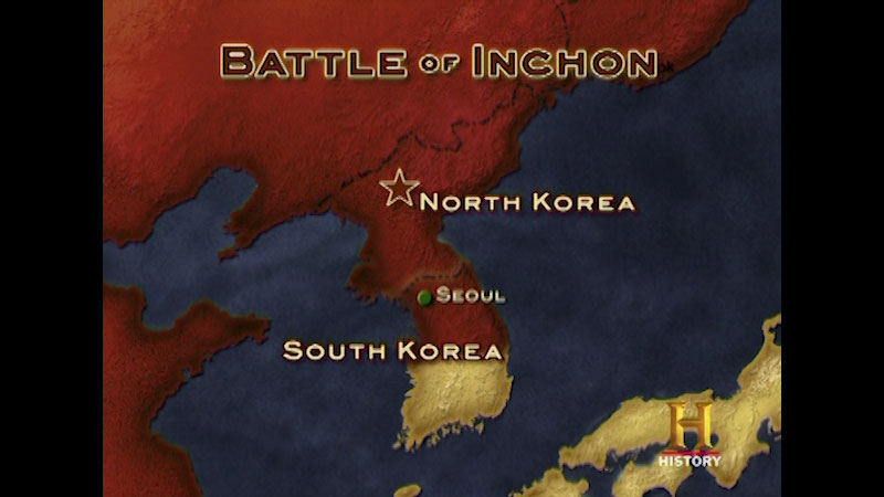 Still image from Command Decisions: Battle of Inchon