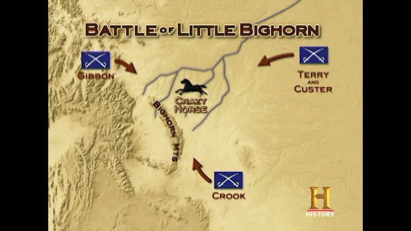 Still image from Command Decisions: Battle of Little Bighorn