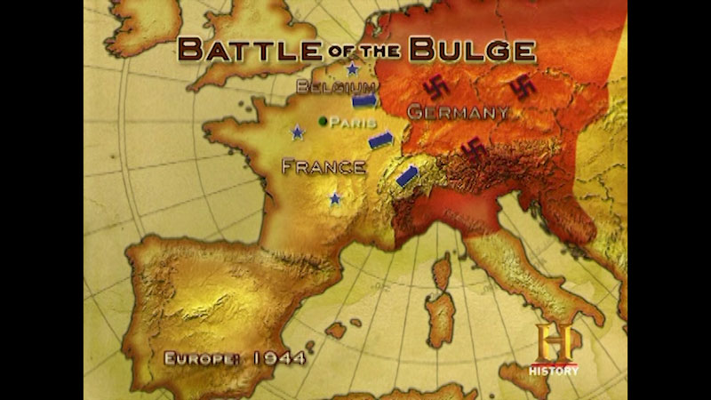 Still image from: Command Decisions: Battle of the Bulge