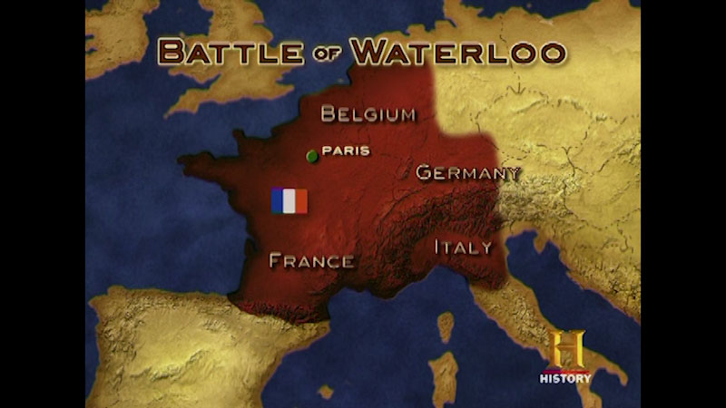 Still image from: Command Decisions: Battle of Waterloo