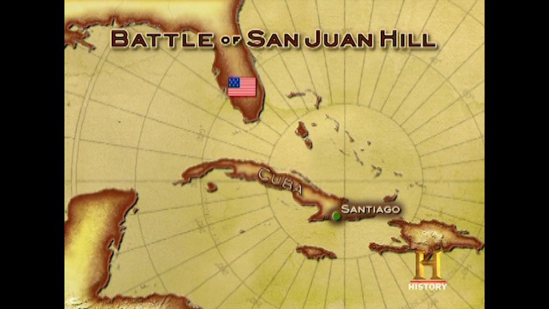 Still image from: Command Decisions: San Juan Hill