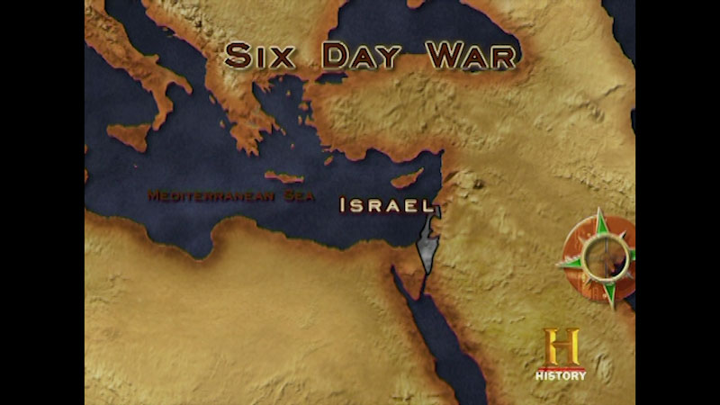 Still image from: Command Decisions: The Six-Day War