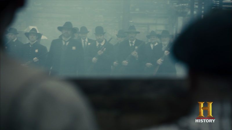 Still image from The Men Who Built America: Bloody Battles