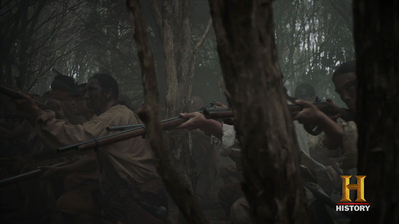 Still image from The Men Who Built America: Frontiersmen--Live Free or Die