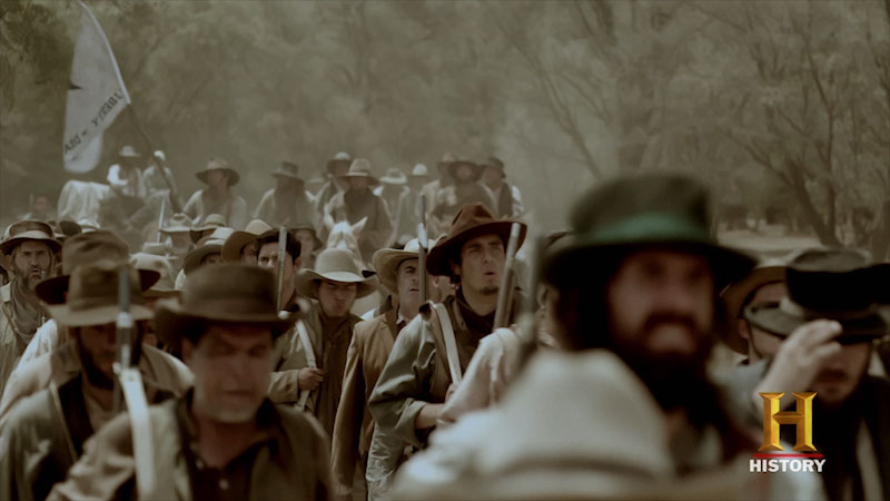 Still image from The Men Who Built America: Frontiersmen--Empire of Liberty