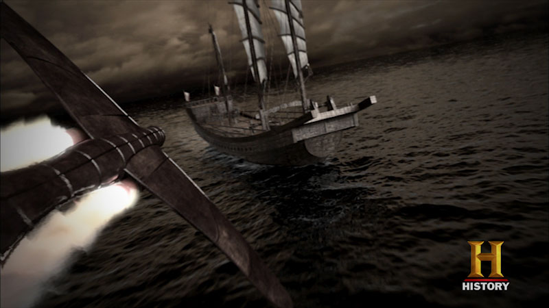 Still image from Ancient Discoveries: Airborne Assault
