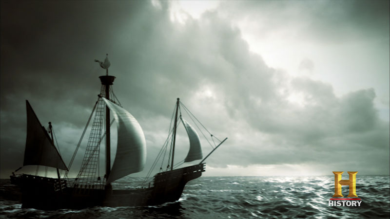 Still image from: Ancient Discoveries: Mega Ocean Conquest